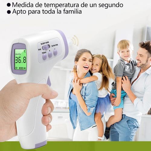 termómetro digital infrarrojo sin contacto para oído