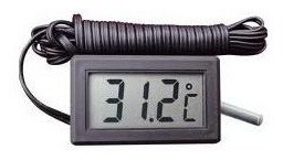 termometro digital lcd uso geral  aquario freezer frete free