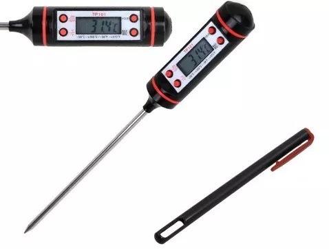 termometro digital para cocina alimentos vegetales