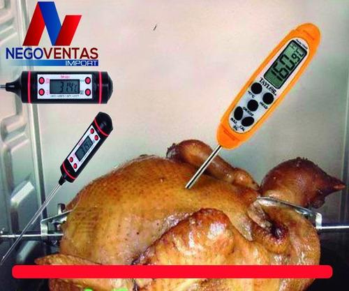 termómetro digital para cocina alimentos vegetales de oferta