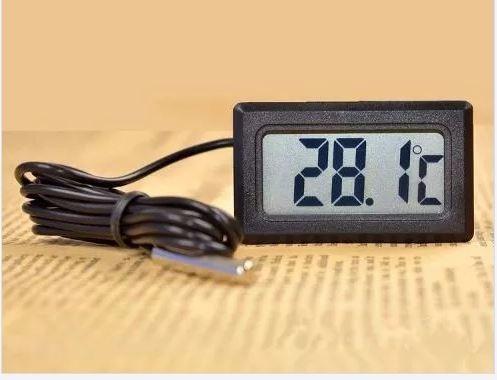 termómetro digital para refrigerador, acuario