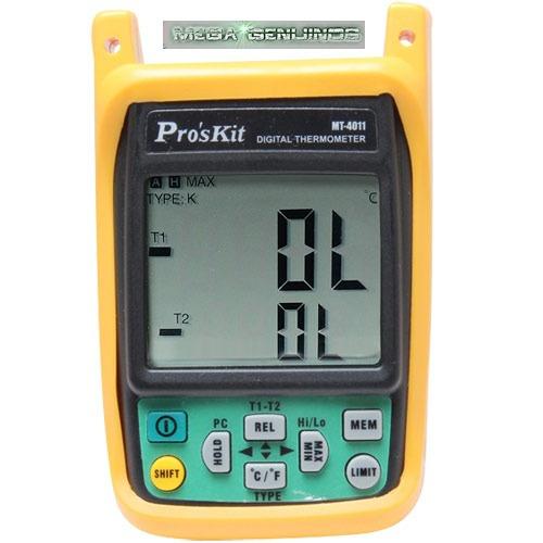 termómetro digital proskit  (herramienta)