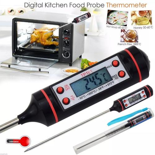 termómetro digital solidos o liquidos rango 50ºc a 300ºc