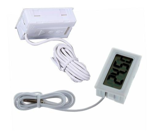 termómetro digital sonda nevera refrigerador acuario