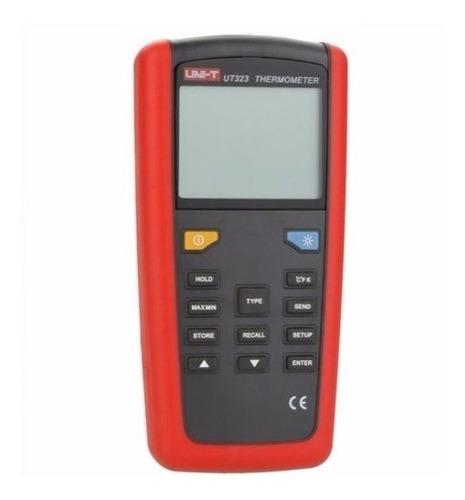 termómetro digital sondas tipo k,j,t,e,s,n,r uni-t ut323
