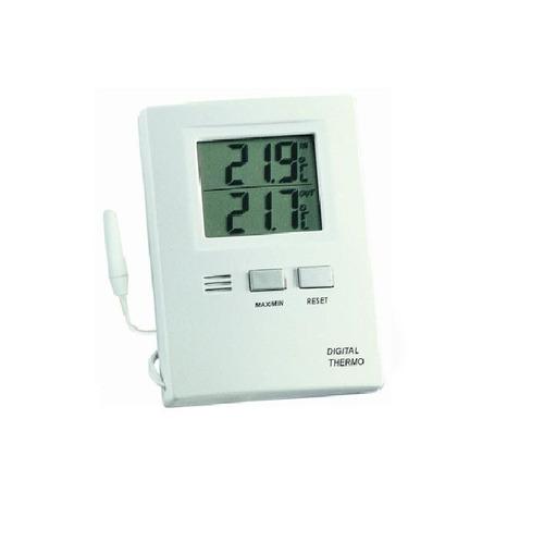 termómetro digital tfa 30 1012 interior y exterior máx y mín