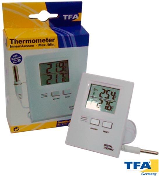 c6d88ce7a Termometro Digital Tfa, 30.1012 Sensor Interno Y Externo - $ 1.000 ...