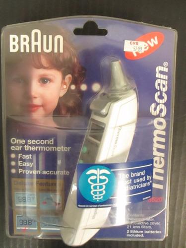 termometro digital thermoscan braun