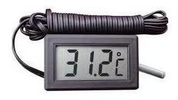 termometro digital uso geral aquario freezer com cabo
