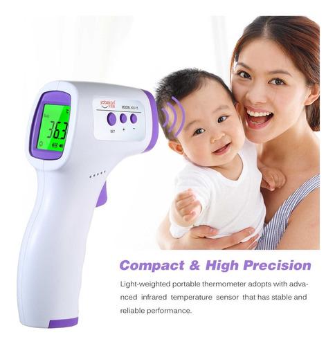 termómetro electrónico láser digital infrarrojo sin contacto