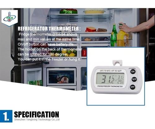 termometro geladeira freezer maxima e minima digital
