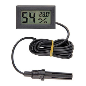 Termómetro Higrómetro Digital C Sonda Incubadoras Invernader
