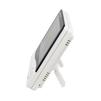 termometro higrometro digital humedad temperatura reloj