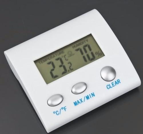 termómetro higrometro digital lcd, humedad interior c/f