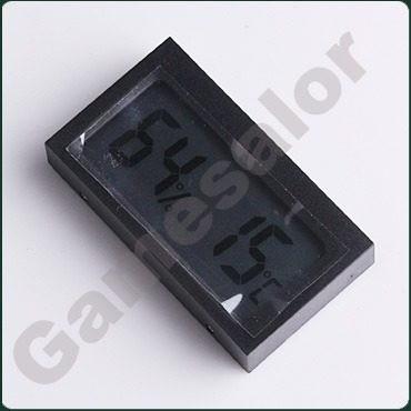 termometro higrometro digital lcd -reloj no- mini