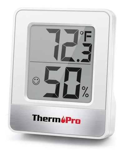 termómetro higrómetro digital thermopro tp-49 mide humedad