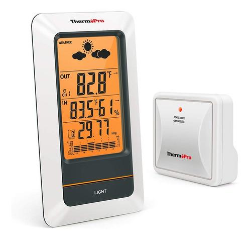 termómetro higrómetro estación metereológica thermopro tp67