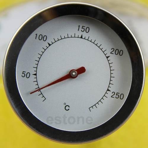 termometro horno cocina acero inoxidable 300c punzon acero