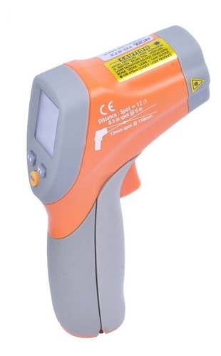 termometro icel mira laser dupla infravermelho industrial