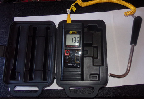 termometro industrial tipo k -50 hasta 1093°c