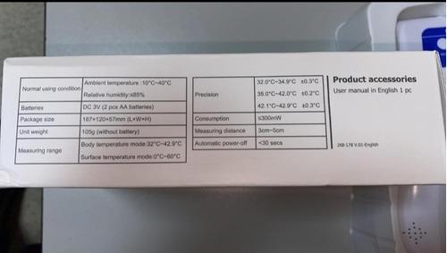 termómetro infrarojo bercom