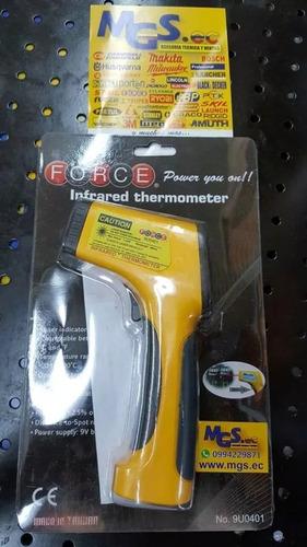 termometro infrarojo indicador laser marca force