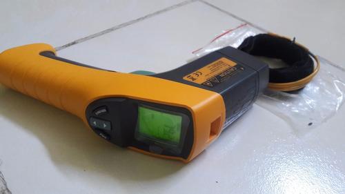 termómetro infrarojo laser fluke 561 hvac pro