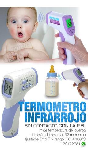 termometro infrarojo sin contacto para objetos