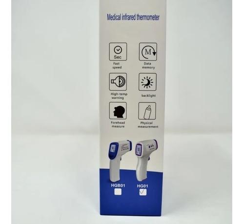 termometro infrarrojo corporal digital a distancia