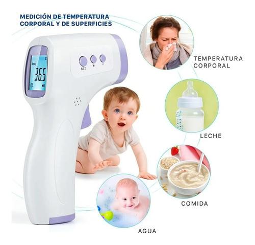 termometro infrarrojo corporal digital a distancia dikang