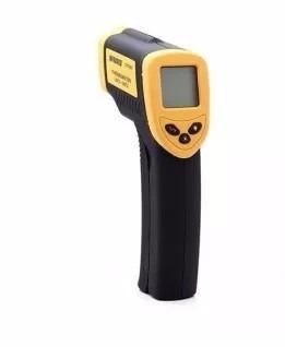 termómetro infrarrojo digital
