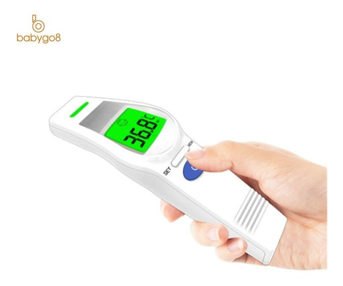 termómetro infrarrojo digital corporal ufr106 pantalla led