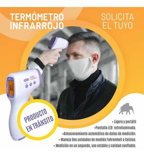 termómetro infrarrojo digital (disponibles) entrega inmta