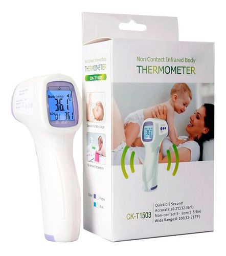 termometro infrarrojo digital láser a distancia ck-t1503