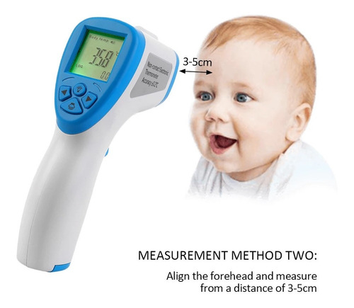 termómetro infrarrojo digital profesional uso medico