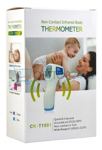 termómetro infrarrojo digital temperatura cuerpo