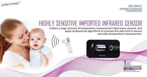 termómetro infrarrojo digital temperatura cuerpo adultos