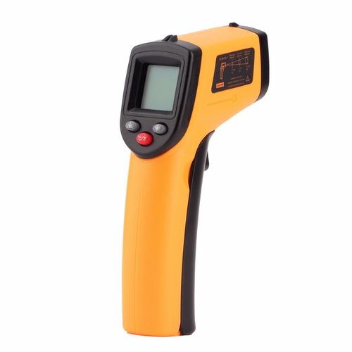 termometro infrarrojo laser lcd alimentos neveras cocina bbq