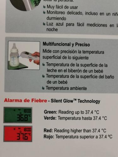 termómetro infrarrojo microlife nc100  medico original promo