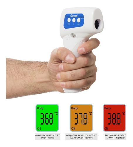 termometro infrarrojo testeo a distancia humanos