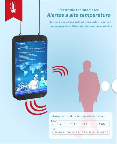termometro infrarrojo (totem medical)