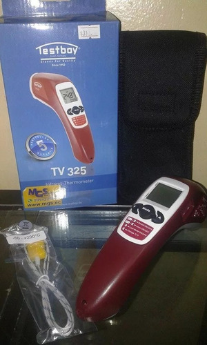 termometro infrarrojos regulable marca testboy.
