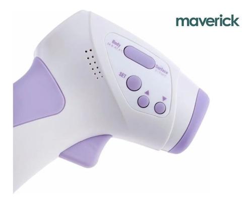termómetro laser infrarrojo distancia maverick personas