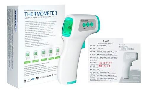 termómetro laser infrarrojo para humanos a distancia enstock