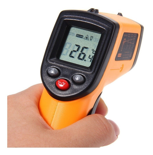 termometro laser medidor de temperatura sin contacto facil d