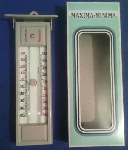 termometro maxima y minima celsius rancho ganado invernadero