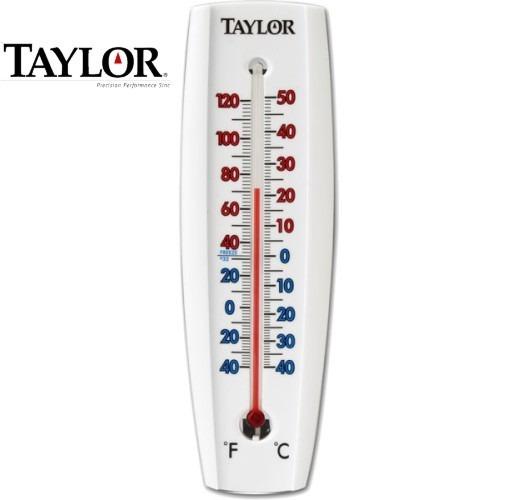 Term metro mercurio para interior y exterior taylor 5154 - Termometro interior exterior ...