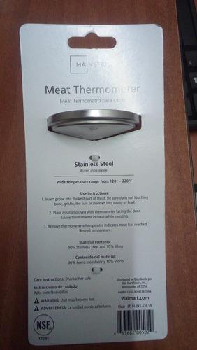 termometro para carne mainstay´s