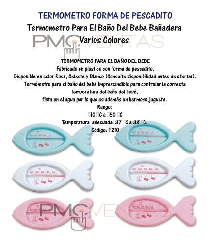 termometro para el baño del bebe bañadera varios colores