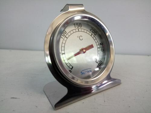 termómetro para horno analógico acero inoxidable 300 grados